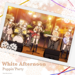 [Single] BanG Dream!: Poppin'Party – White Afternoon (2019/MP3/RAR)